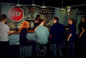 after work bar Gokart Stockholm Globen