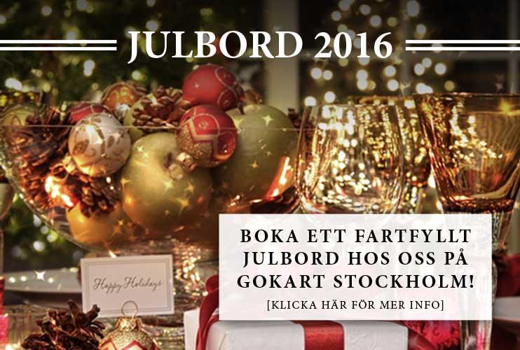 Gokart Stockholm Julbord