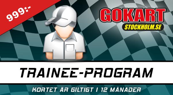 Presentkort Trainee Program Gokart Stockholm Globen