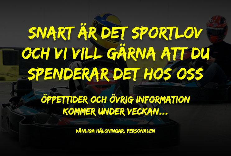 Gokart Stockholm Sportlov Teaser Gokart Stockholm