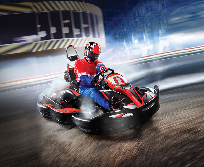 DROP-IN & RACE » Gokart Stockholm
